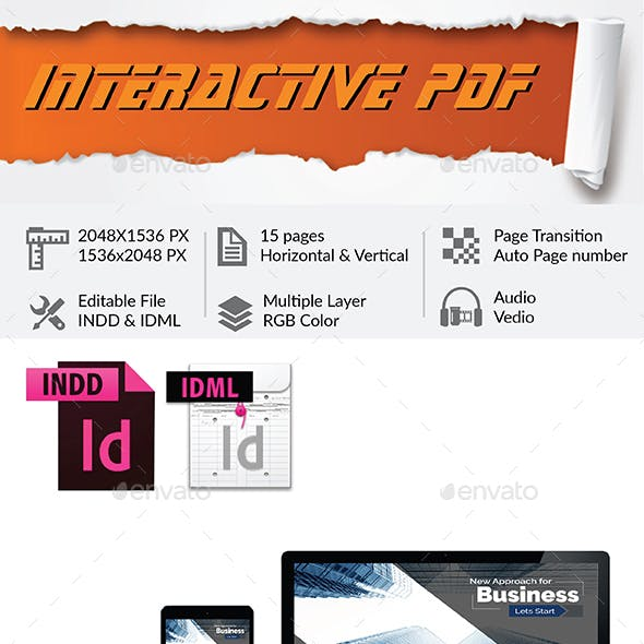 Corporate Interactive PDF
