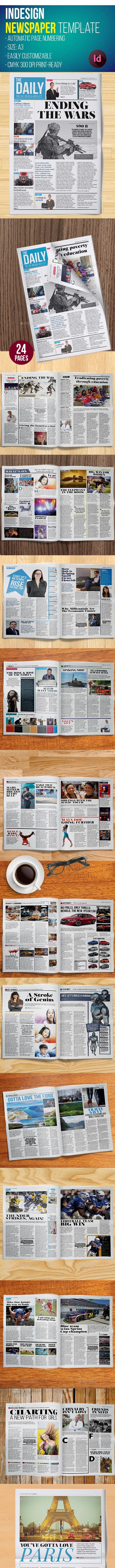Newspaper Template - Print Templates