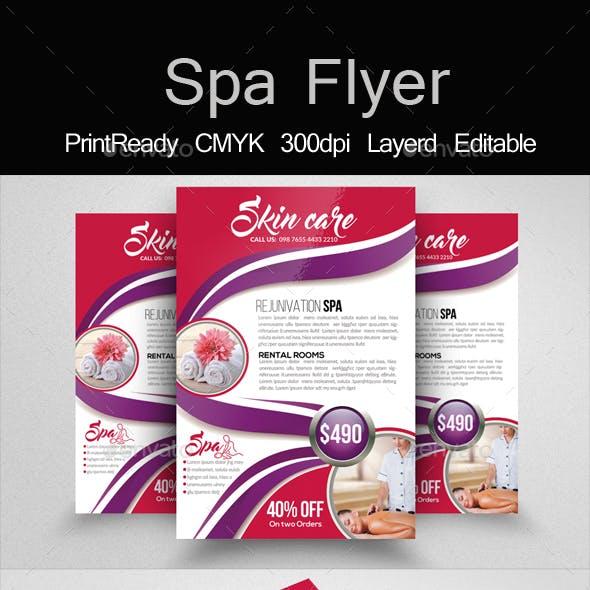 Beauty & Spa Psd Flyer Templates