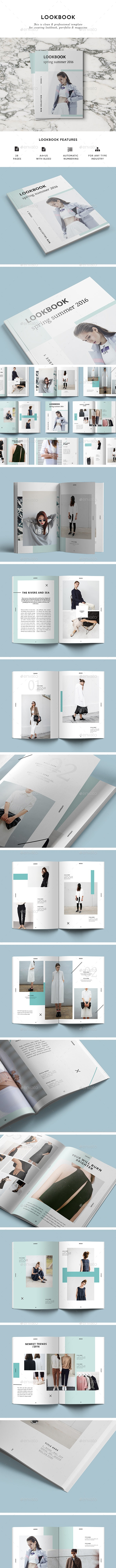 LookBook - Magazines Print Templates