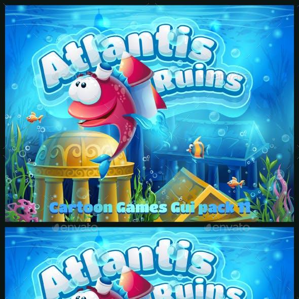Atlantis Ruins GUI