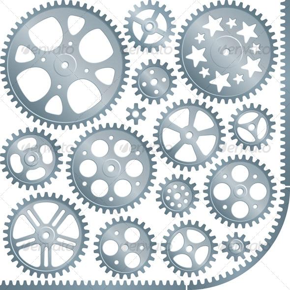 gears set - Retro Technology