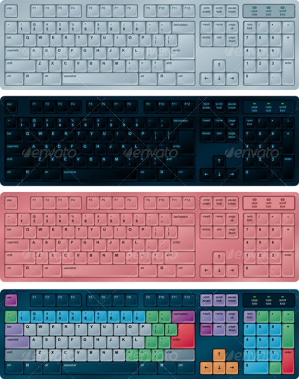 PC keyboards - Computers Technology