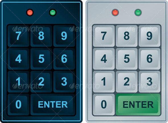 Keypad Entry - Technology Conceptual