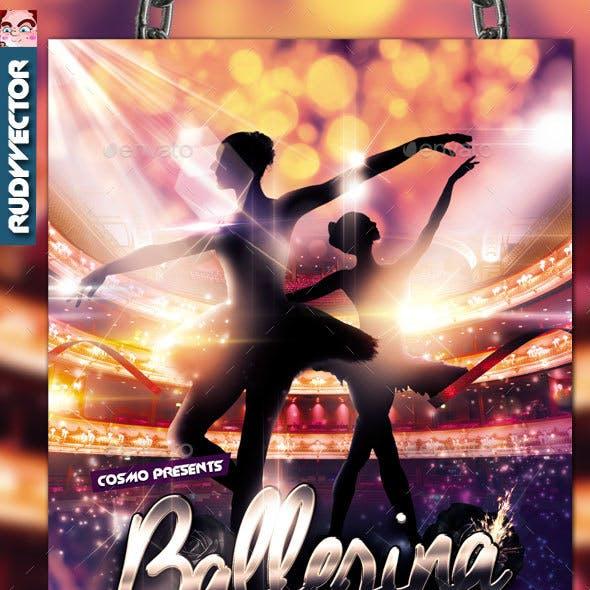 Ballet Dance Flyer