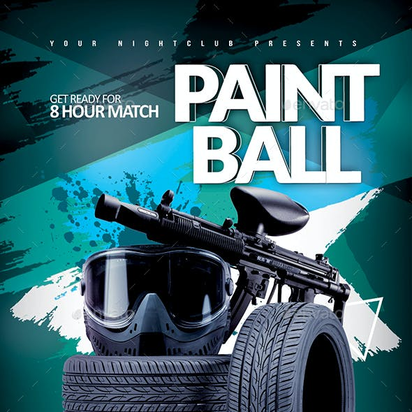 Paintball Match Event