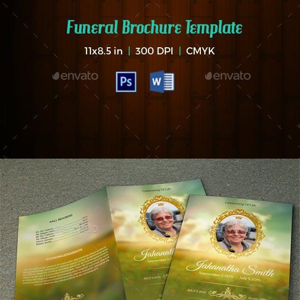 Funeral Program Template-V78
