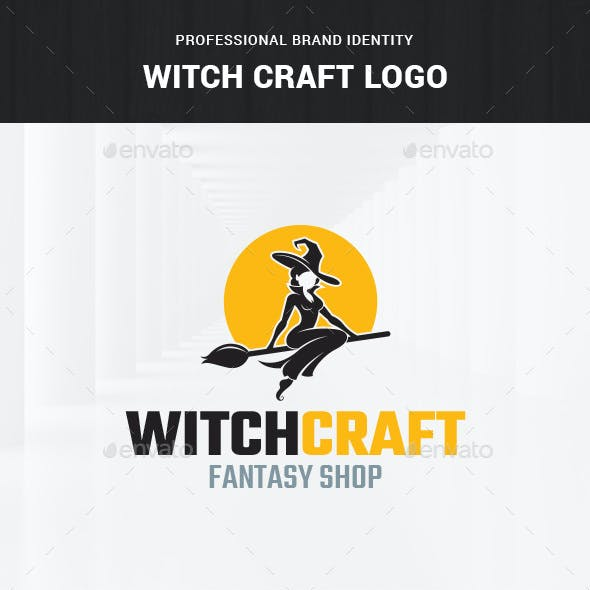 Witch Craft Logo Template