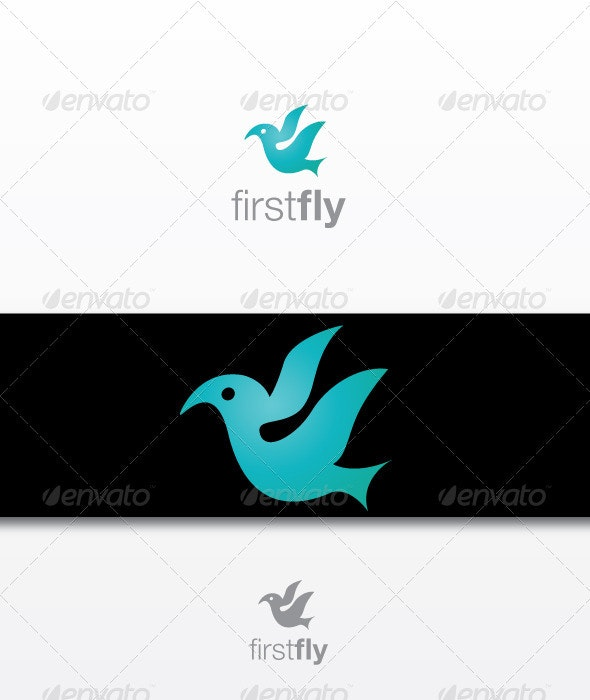 First Fly - Animals Logo Templates