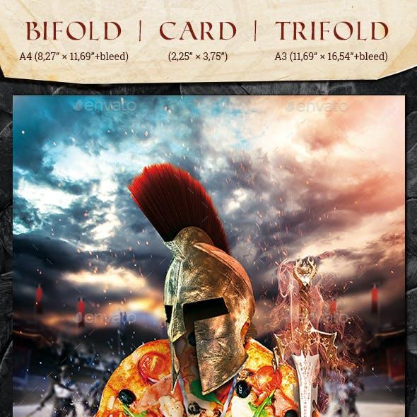 Bifold + Card + Trifold