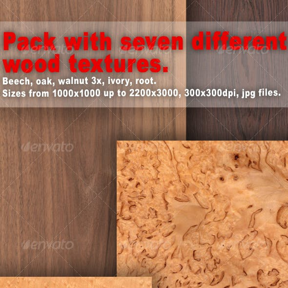 Pack Of Textures - Wood