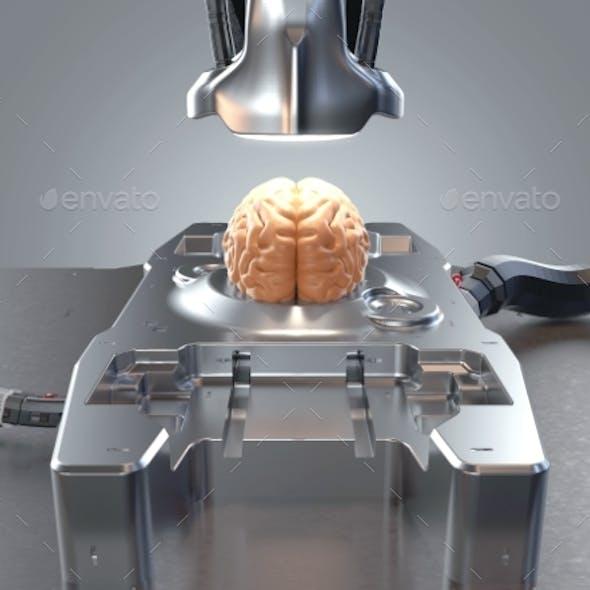 Brain Conceptual Illustration