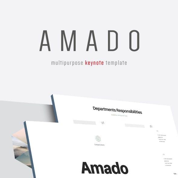 Amado - Multipurpose Keynote Template (V.23)