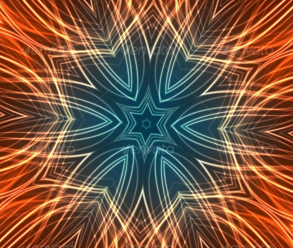 Star Fire - Abstract Textures