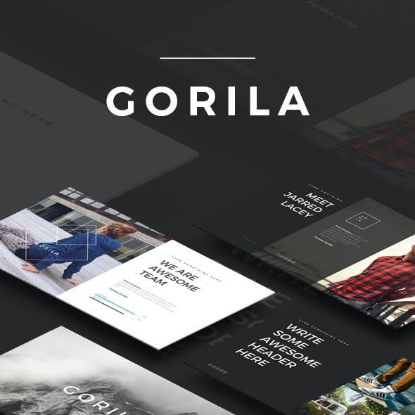 GORILA - PowerPoint Template