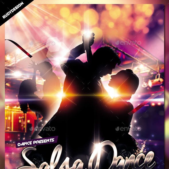 Salsa Dance Flyer