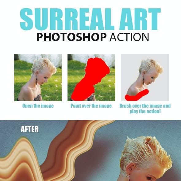 Surreal Art Photoshop Action