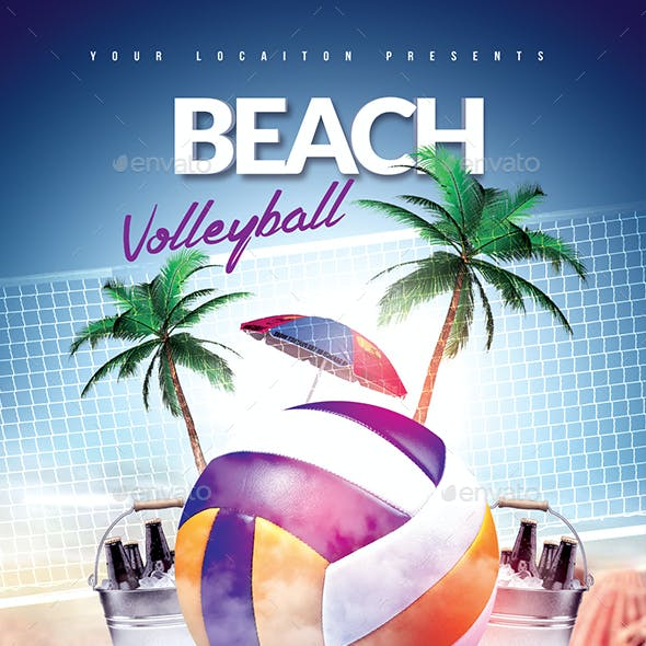Beach Volleyball Event