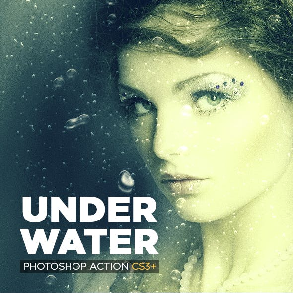 Underwater Photoshop Action CS3+