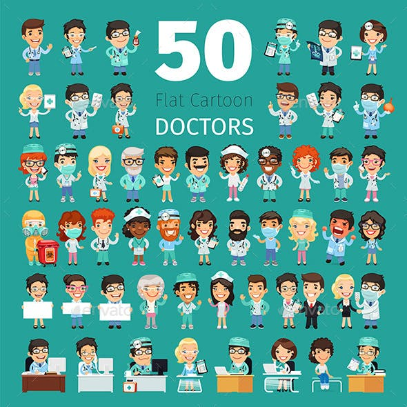 Cartoon Doctors Collection