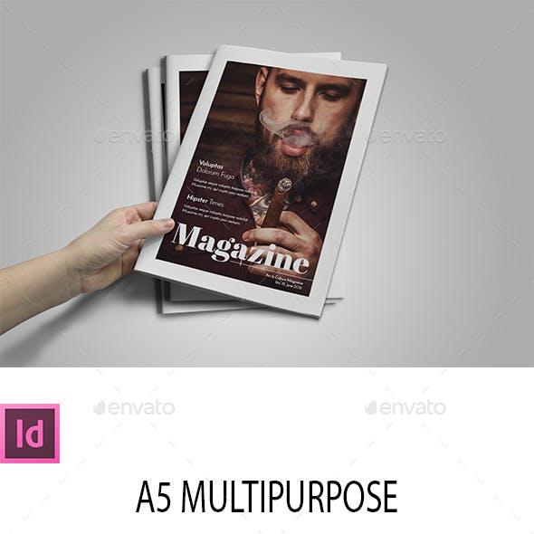 A5 Multipurpose Magazine Template