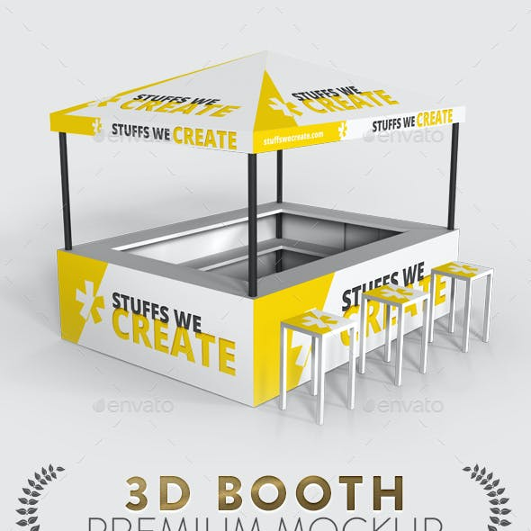 Exhibition | Event - Booth Mockup