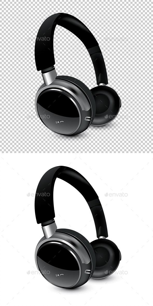 Headphones - Miscellaneous Vectors