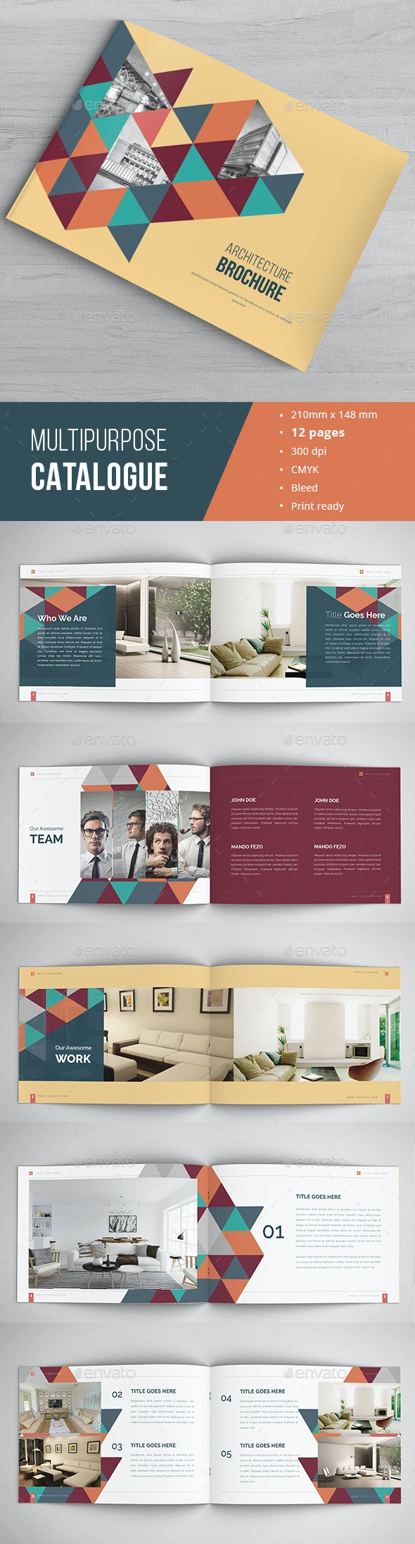 Minimal Catalogue / Portfolio  - Catalogs Brochures