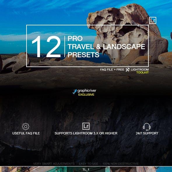 14 Pro Travel & Landscape Presets
