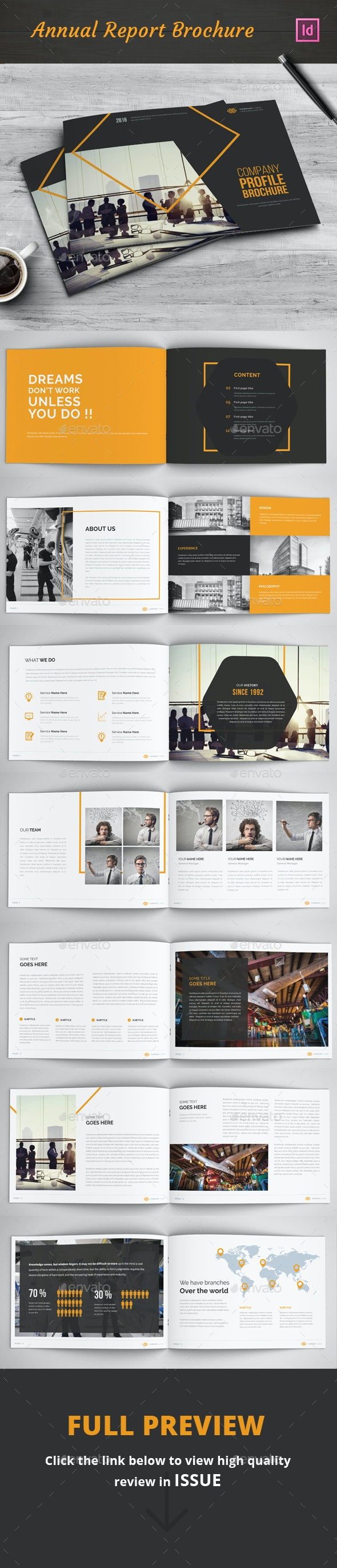 Company Profile Brochure - Catalogs Brochures