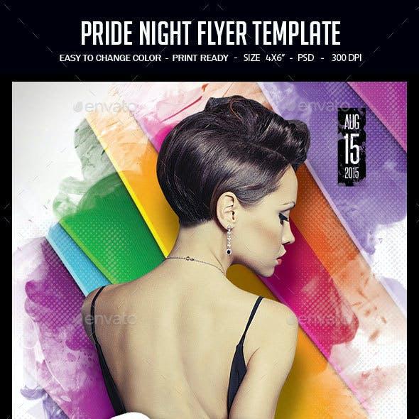 Pride Night Flyer Template