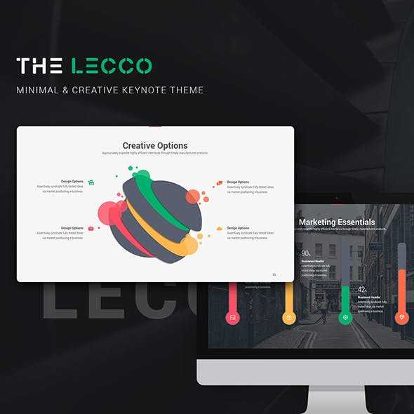 Lecco Creative Keynote Theme