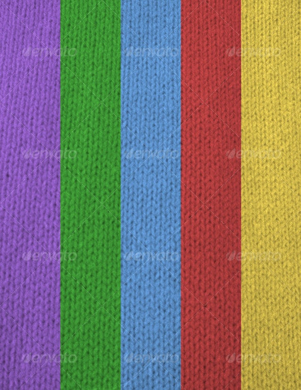 Knitted Fabric - Fabric Textures