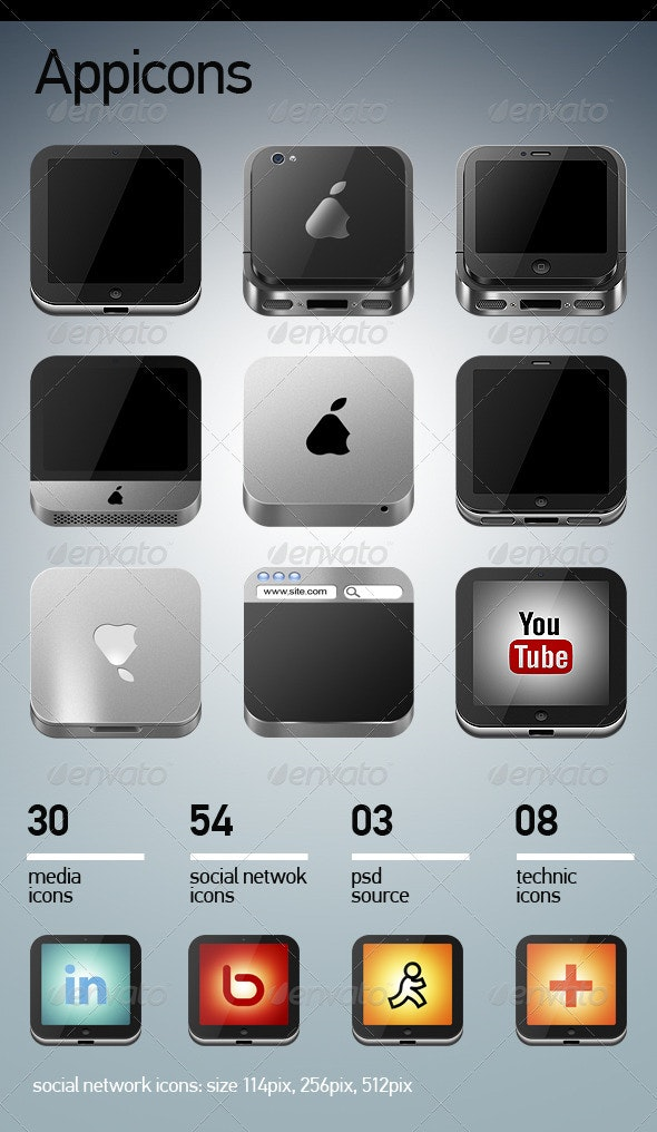 app-computers-icons - Technology Icons