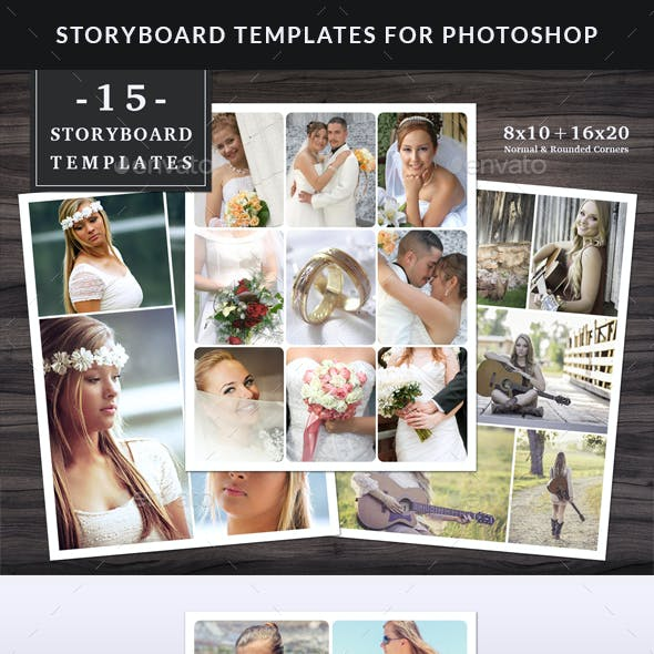 Storyboard / Collage Templates Set