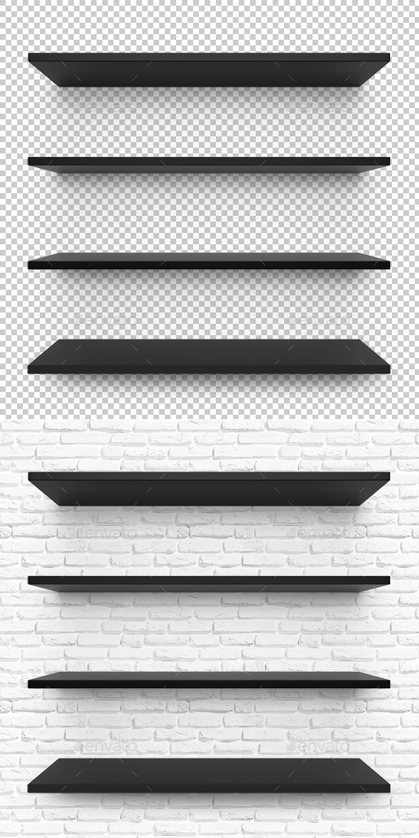 Shelves - Objects 3D Renders