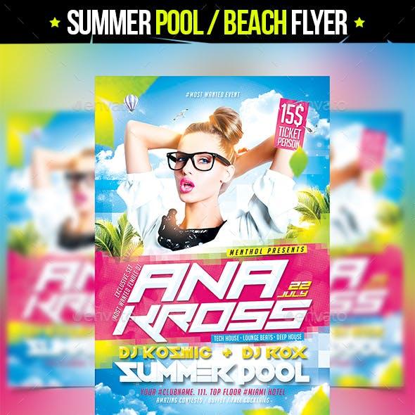 Summer Pool Beach Party