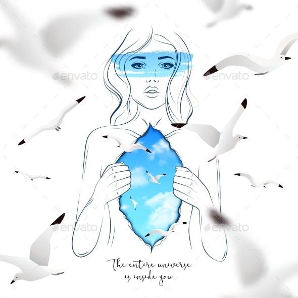 Inner World Of Woman
