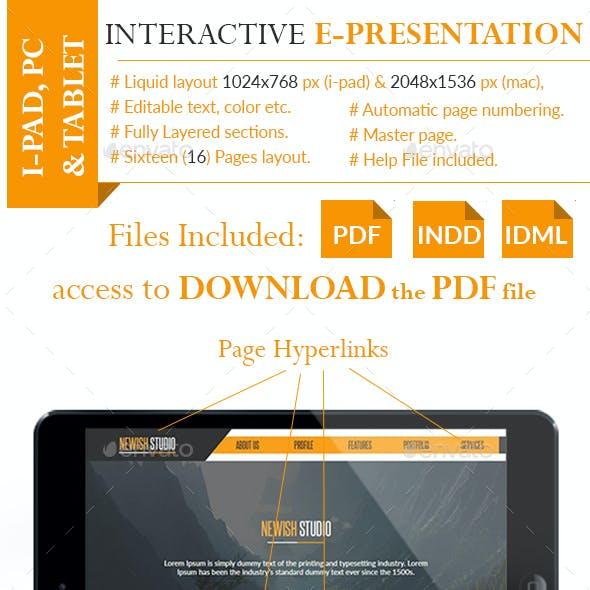 Interactive PDF Presentation