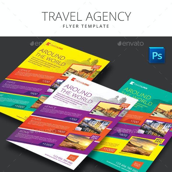 Travel Agency Flyer Minimalist