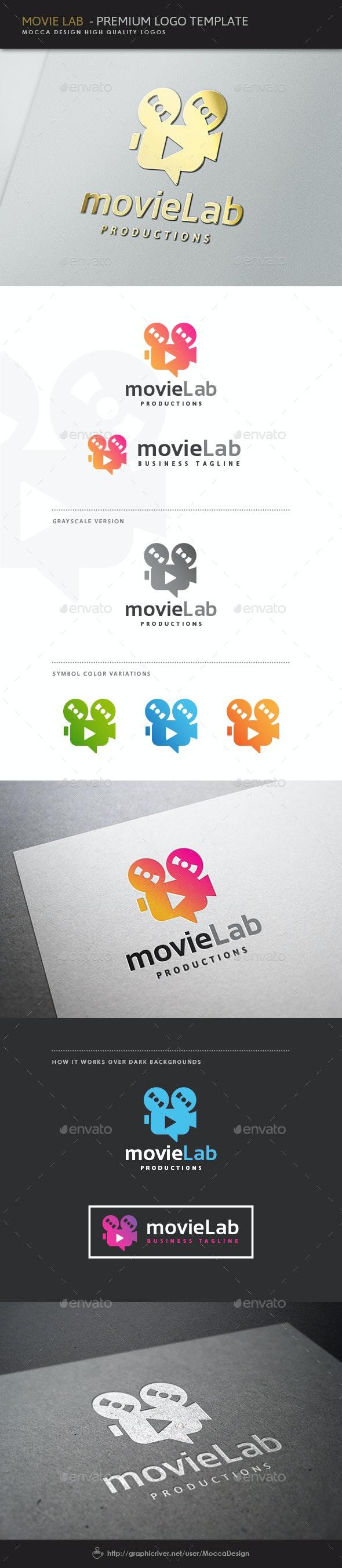 Movie Lab Logo - Objects Logo Templates