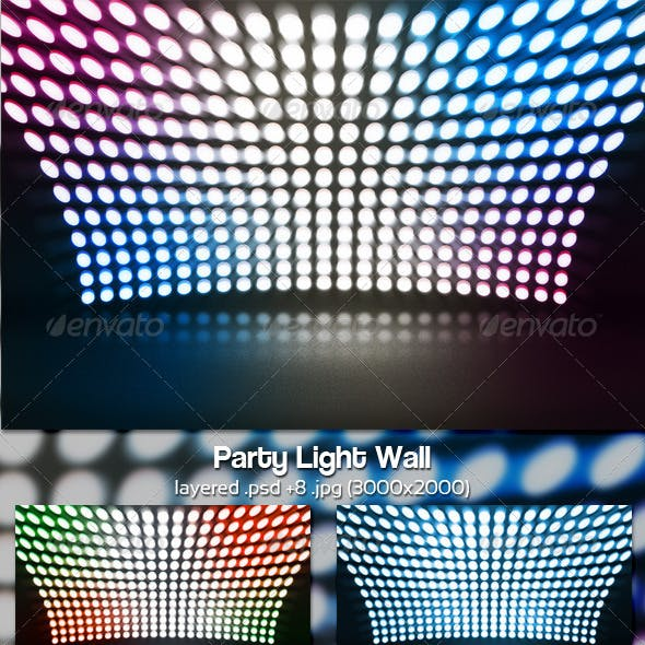 Party Light Wall