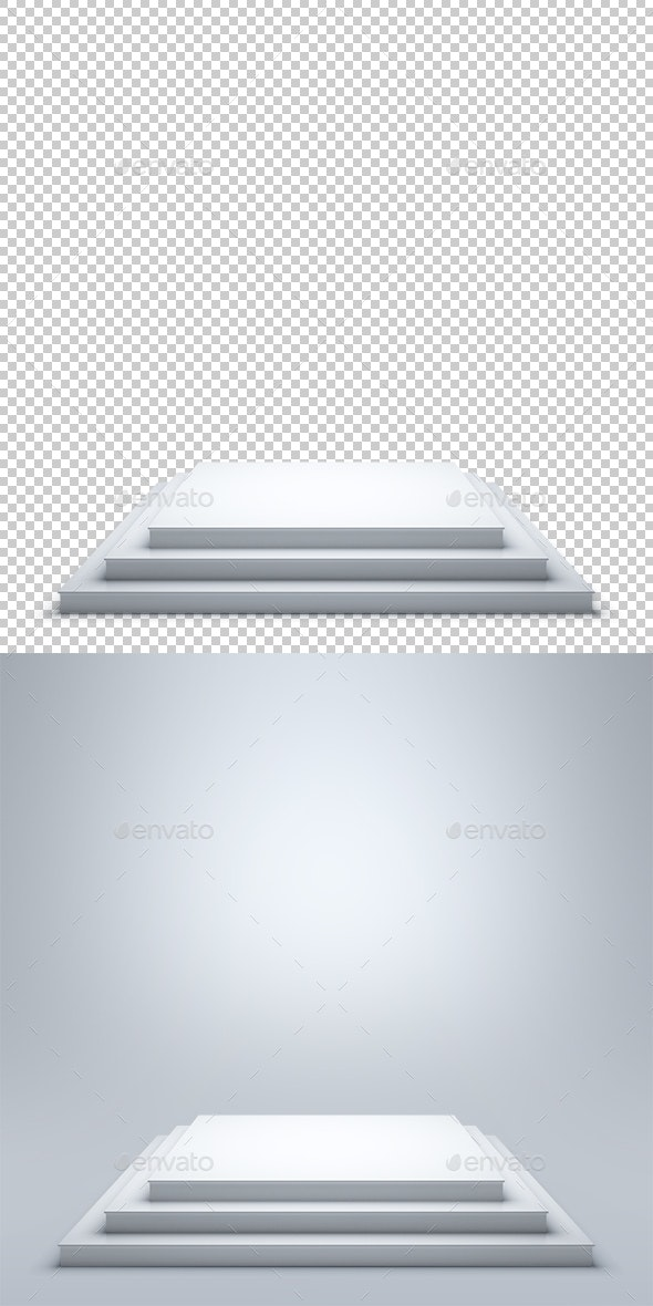 Podium - Objects 3D Renders