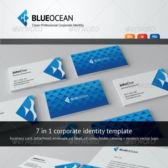 Blue Ocean - Clean Corporate Identity