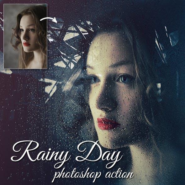 Rainy Day Photoshop Action