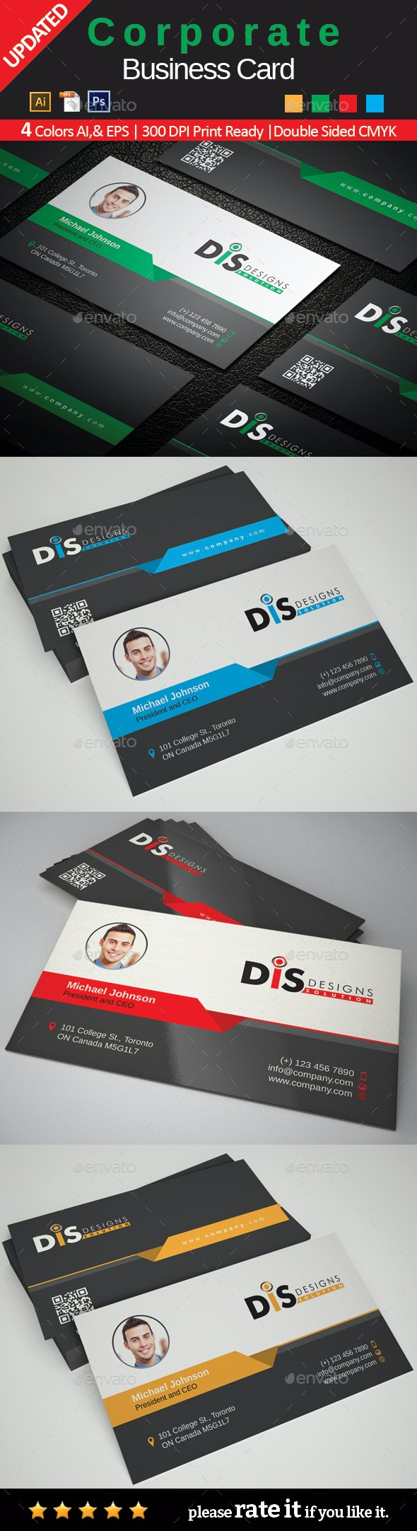 Business Card - Corporate Business Cards