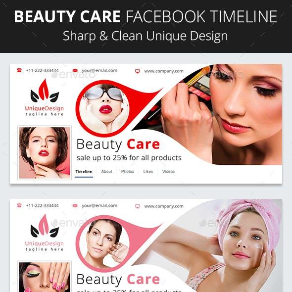 Beauty Care Facebook Timeline