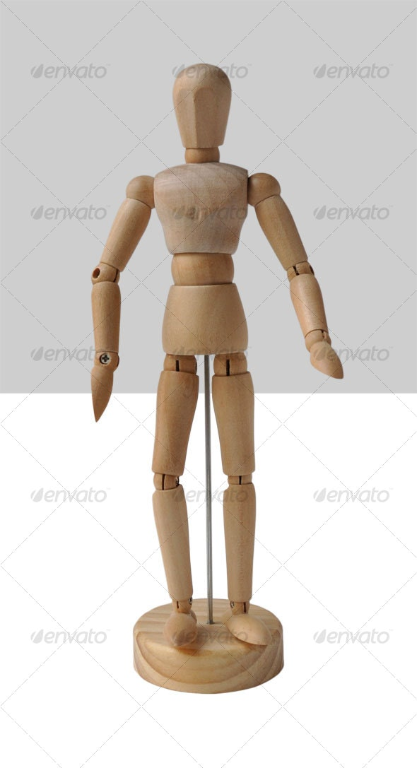 Artist's Mannequin - Activities & Leisure Isolated Objects