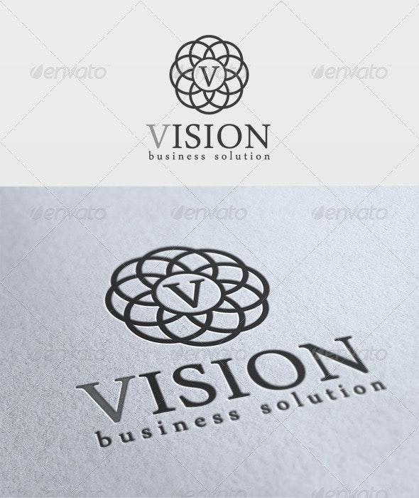 Vision Logo - Letters Logo Templates