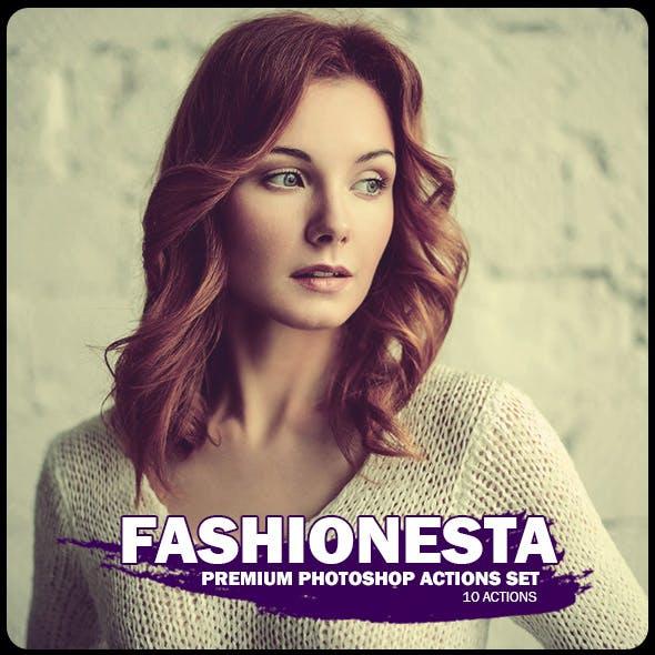Fashionesta Photoshop Actions